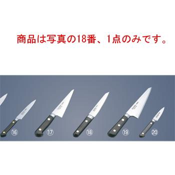 ミソノ スウェーデン鋼 ツバ付 骨スキ丸型 No.142 14.5cm【包丁】【Misono】【キッチンナイフ】