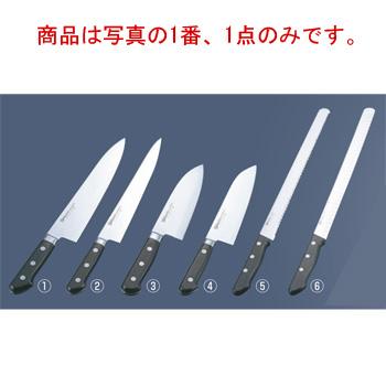 ミソノ モリブデン鋼 ツバ付 牛刀 No.515 30cm【包丁】【Misono】【キッチンナイフ】