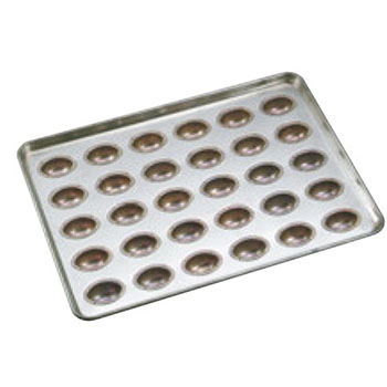 シリコン加工 アペール型 天板(30ケ取)【業務用】【オーブン天板】