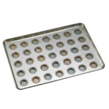 シリコン加工 プティフール型 天板(35ケ取)【業務用】【オーブン天板】