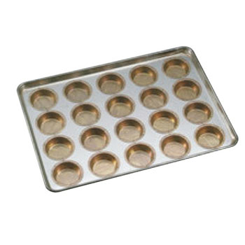 シリコン加工 ミニマンケ75型 天板(20ケ取)【業務用】【オーブン天板】