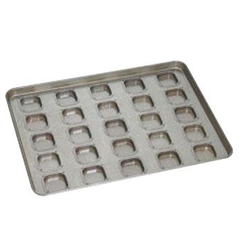 シリコン加工 サボン型 天板(25ヶ取)【業務用】【オーブン天板】
