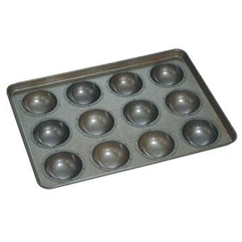 シリコン加工 カステラドーナツ型 天板(12ヶ取)【業務用】【オーブン天板】