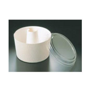蓋付 シフォンカップ(50枚入)白 無地 SC-840-A【業務用】【紙カップ】【製菓カップ】