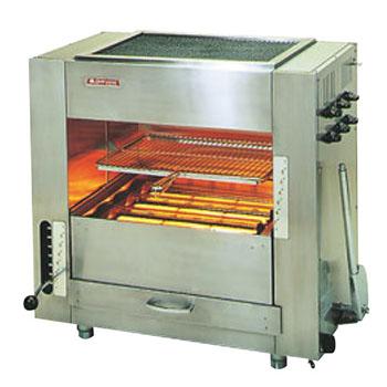 赤外線同時両面焼グリラー 武蔵 SGR-65 LP【代引き不可】【業務用】【焼物器】【魚焼き器】