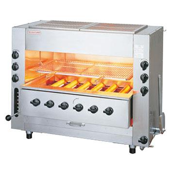 赤外線同時両面焼グリラー NEW武蔵 SGR-N90 13A【代引き不可】【業務用】【焼物器】【魚焼き器】