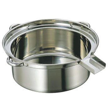 EBM 18-8 ゆで麺鍋 大(φ500×185)Cタイプ【代引き不可】【茹で麺鍋】【鍋】【業務用】
