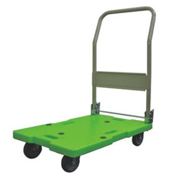 樹脂台車(ハンドル折りたたみ式)LSK-111【台車】【運搬台車】【キャリー】