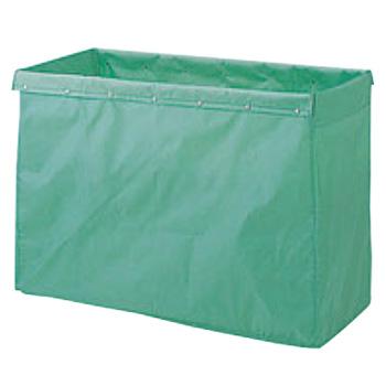 グリーン【替袋】【袋】 360L用 リサイクル用システムカート収納袋