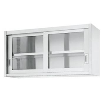 吊戸棚 HG60型(片面ガラス戸)HG60-15030【代引き不可】【吊り戸棚】【戸棚】【キッチン収納】