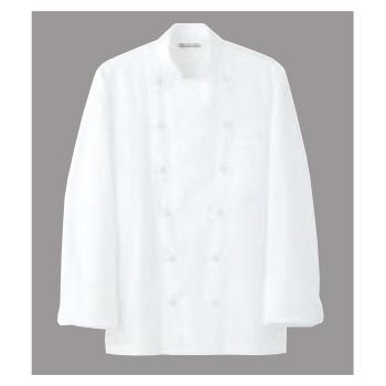 ドレスコックコート(男女兼用)AA461-3 ホワイト L【コックコート】【コック服】【厨房ユニフォーム】