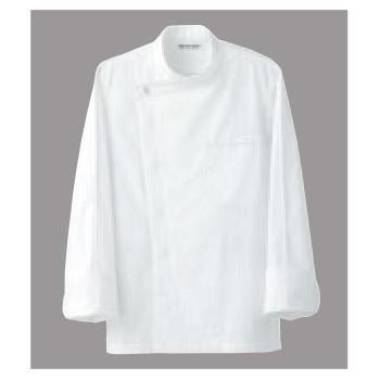 ドレスコックコート(男女兼用)BA1044-0 ホワイト L【コックコート】【コック服】【厨房ユニフォーム】