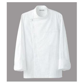ドレスコックコート(男女兼用)BA1044-0 ホワイトLL【コックコート】【コック服】【厨房ユニフォーム】