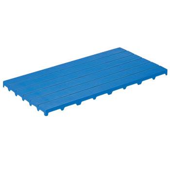 PE サンスノコ #1260 ブルー 1197×593×H50【代引き不可】【すのこ】【みざら】【ミザラ】