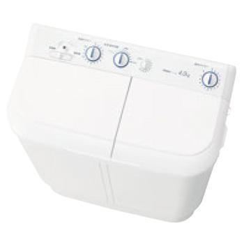 ハイアール 二槽式洗濯機 JW-W55E(W)【代引き不可】【洗濯機】【洗濯用品】