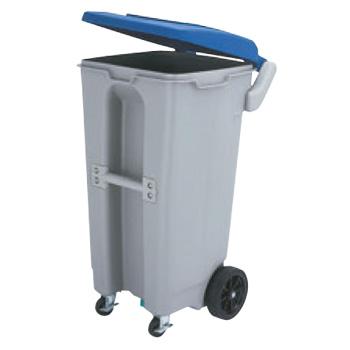 エコランドボックス 4輪 #130 ブルー【代引き不可】【ゴミ箱】【ダストボックス】【ごみ箱】