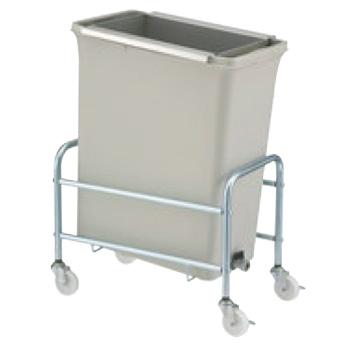 リサイクルトラッシュ バルブ式セット ECO-50【ゴミ箱】【ダストボックス】【ダストカート】