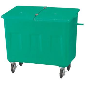 エコカート F600(FRP樹脂)【代引き不可】【ゴミ箱】【ダストボックス】【ゴミ入れ】