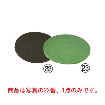ポリッシャーCP-12K用フロアパッド シックライン(5枚入)黒 剥離用【清掃用品】【業務用】【ポリッシャー】