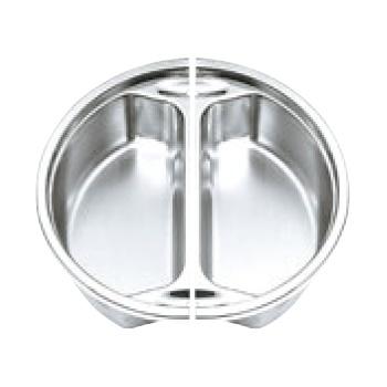 電磁サーバー専用ステンレスフードパン 1/2(2枚組)65-644-2【バンケットウォーマー】