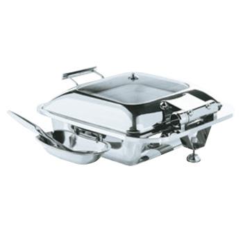 スマートチューフィング 角型(ガラス蓋仕様)15601【代引き不可】【バンケットウォーマー】【ステンレス製】