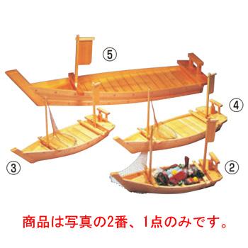 木製 大漁舟 黒潮 K-65 アミ付(40204)【盛皿】