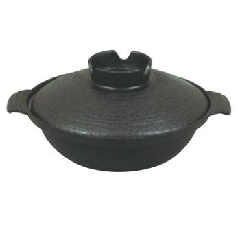 五進 鉄 寄せ鍋 25cm(G-13)【業務用】【なべ】【鉄鍋】