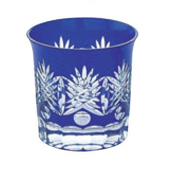 江戸切子 西陣・オールド ルリ 120-93-3【グラス】【カップ】【タンブラー】