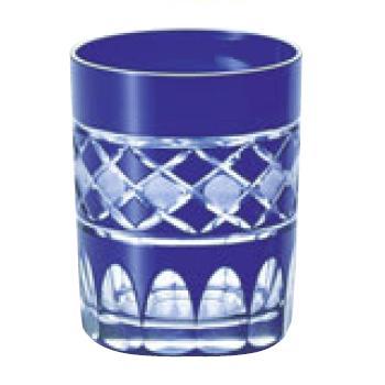 江戸切子 倉敷・オールド ルリ 97-871-3【グラス】【カップ】【タンブラー】