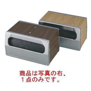 トラエックス ナフキンディスペンサー 6515-12 ライトオーク【ナフキン入】