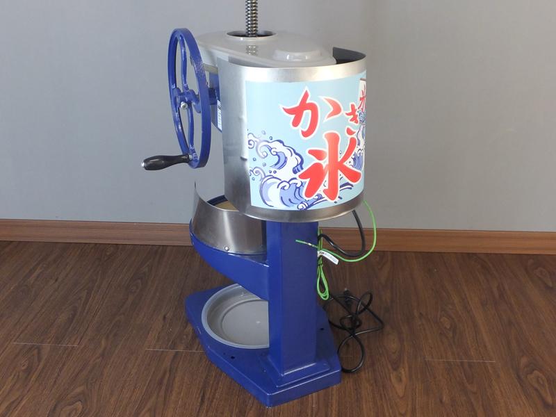 【アウトレット】業務用 電動 かき氷機 ふわふわ PRO-B400M【ブロックアイススライサー】
