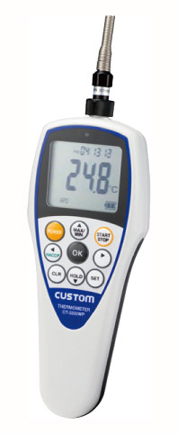 カスタム 防水デジタル温度計 CT-3200WP TS-02WP標準センサー付