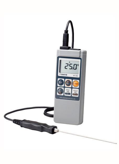 防水デジタル温度計 SK-1260 メモリー機能付【代引き不可】