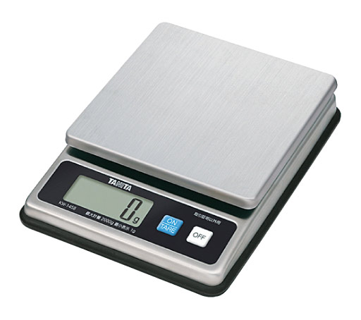 デジタルスケール KW-1458 2kg タニタ (取引照明以外用)