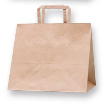 紙袋 HフラットCB 200 300-1 未晒無地