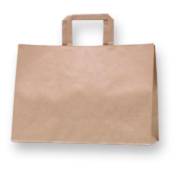 紙袋 HフラットCB 200 340-1 未晒無地
