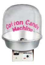 全自動わた菓子機 CA-120型 バブルカバー付【代引き不可】【業務用厨房機器厨房用品専門店】