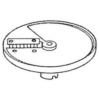 ロボクープ 野菜スライサー CL-52D・CL-50E用刃物円盤 角千切り盤 2mm×6mm【野菜スライサー フードスライサー 業務用スライサー】【robot coupe】【エフエムアイ】【業務用厨房機器厨房用品専門店】