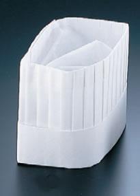 オールタイム シェフハット角型 (50枚入) CH-1200【コック帽】【cock hat】【スカルキャップ】【Toque blanche】【業務用厨房機器厨房用品専門店】