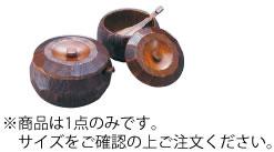 摺り漆 木製飯器セット(蓋付) 中 25892