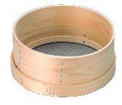 木枠 パン粉 フルイ (6.5メッシュ) 尺2【粉ふるい】【ふるい】【業務用厨房機器厨房用品専門店】