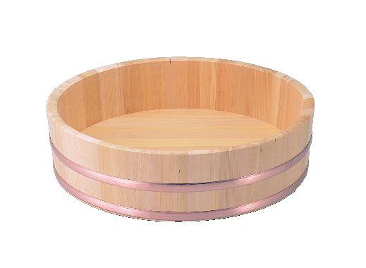 飯切(すし桶)さわら材(銅タガ)45cm【さわら】【飯台】【寿司桶】【飯切り】【業務用厨房機器厨房用品専門店】