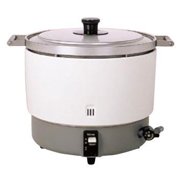 パロマ ガス炊飯器 PR-6DSS(6Lタイプ)((ガス種:都市ガス) 13A)【業務用炊飯器 ガス炊飯器】【パロマ】【業務用厨房機器厨房用品専門店】