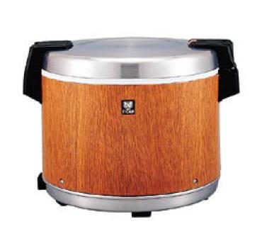 タイガー業務用 電子ジャー <炊きたて> (保温専用) JHC-9000(木目)【保温ジャー 保温器】【ご飯】【白米】【業務用厨房機器厨房用品専門店】