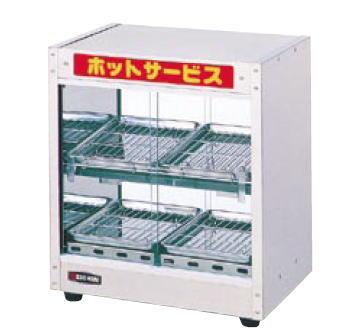 代引き不可 メーカー公式 ED-6 ホットショーケース 供え 業務用 フードケース 温蔵ショーケース エイシン ショーケース フードショーケース
