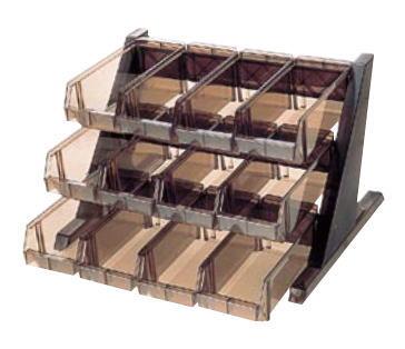 BKオーガナイザー 3段4列 O-3-4-B【フォーク収納 ナイフ収納】【カトラリー入れ】【業務用厨房機器厨房用品専門店】