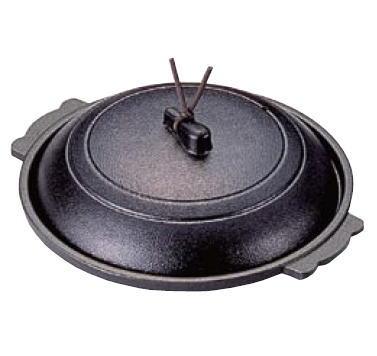 ■お得な10個セット■アルミ 丸陶板 黒 M10-553【鍋】【陶板料理】【丸陶板】【業務用厨房機器厨房用品専門店】■お得な10個セット■