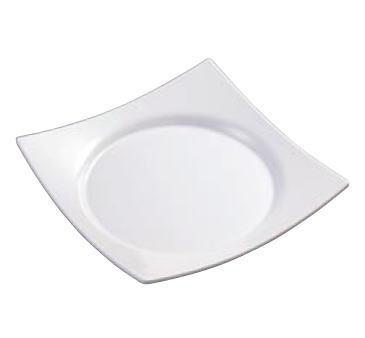■お得な10個セット■ワープスクウェア 皿 白 SJ-73-W【食器】【メラミン】【白い皿】【取り皿】【四角皿】【業務用厨房機器厨房用品専門店】■お得な10個セット■