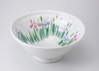 あやめ 尺二手洗い鉢