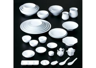 シノワホワイト(強化) 丸尺2皿